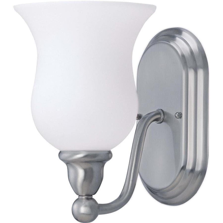 Glenwood 1-Light 8.5-in Brushed Nickel Vanity Light