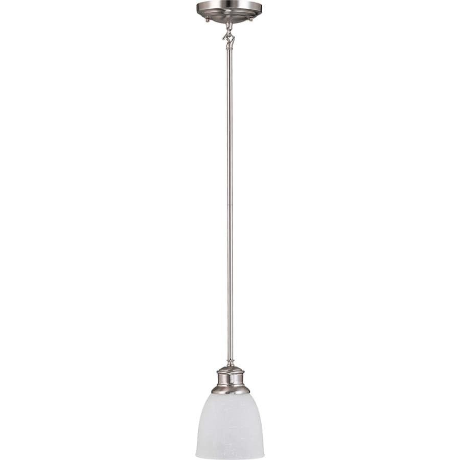 Bella 15-in Brushed Nickel Mini N/A Pendant