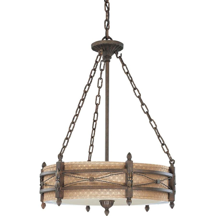Prescott 25-in Astor Bronze Single N/A Pendant