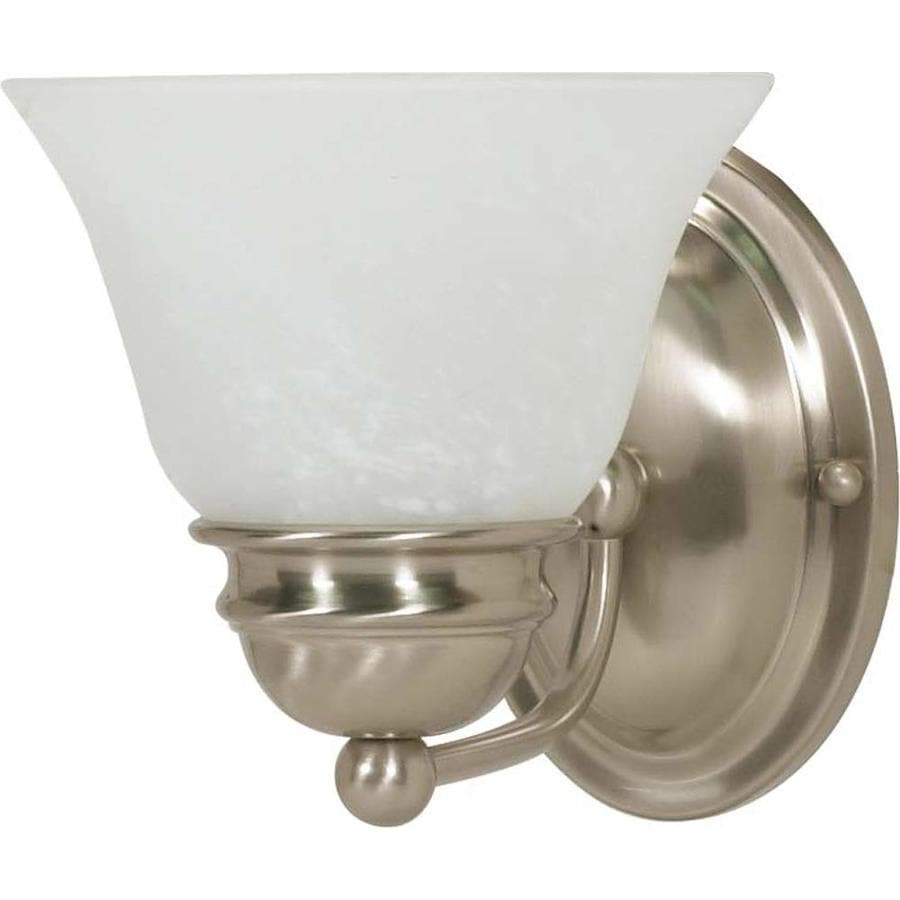 Empire 1-Light 6.5-in Brushed Nickel Vanity Light