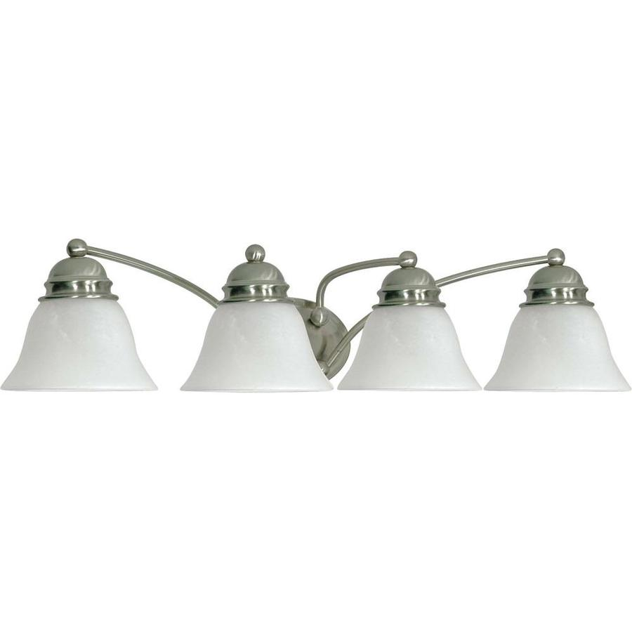Empire 4-Light 6.5-in Brushed Nickel Vanity Light