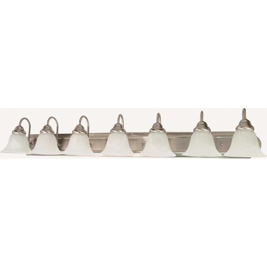 Ballerina 7-Light 7.625-in Brushed Nickel Vanity Light