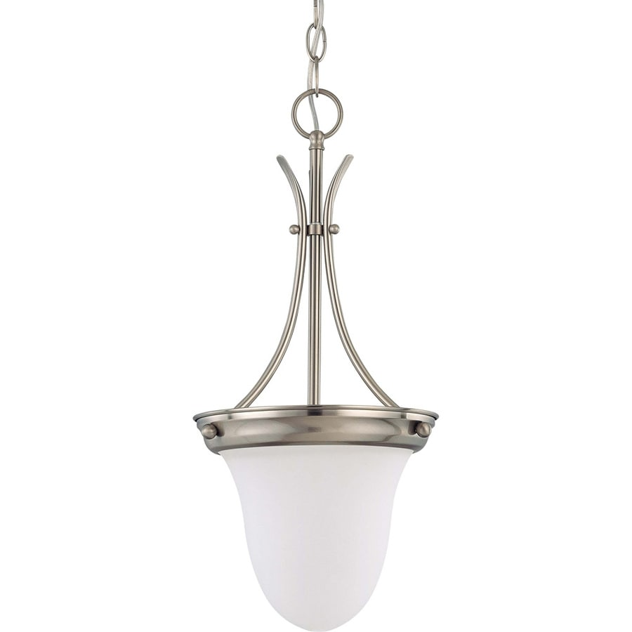 Odeon 10-in Brushed Nickel Mini N/A Pendant