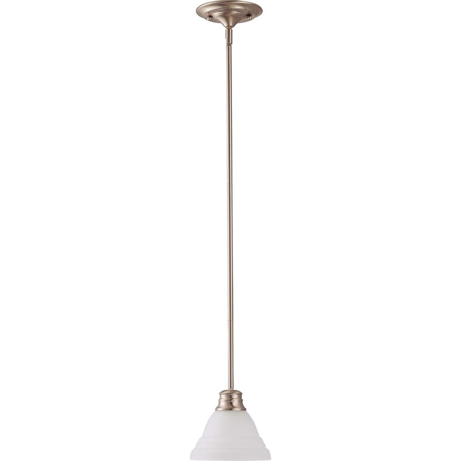 Empire 13-in Brushed Nickel Mini N/A Pendant