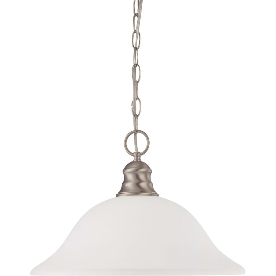 Odeon 17.5-in Brushed Nickel Single N/A Pendant
