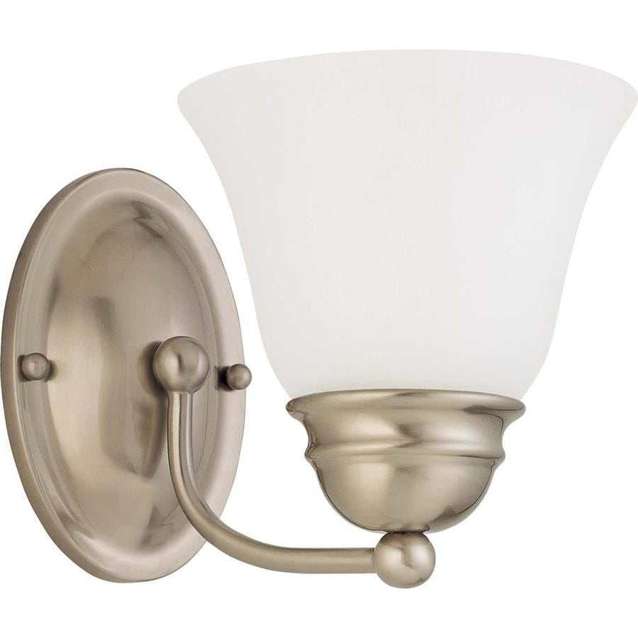 Shop Ballerina 8-Light 4.75-in Brushed Nickel Vanity Light at Lowes.com