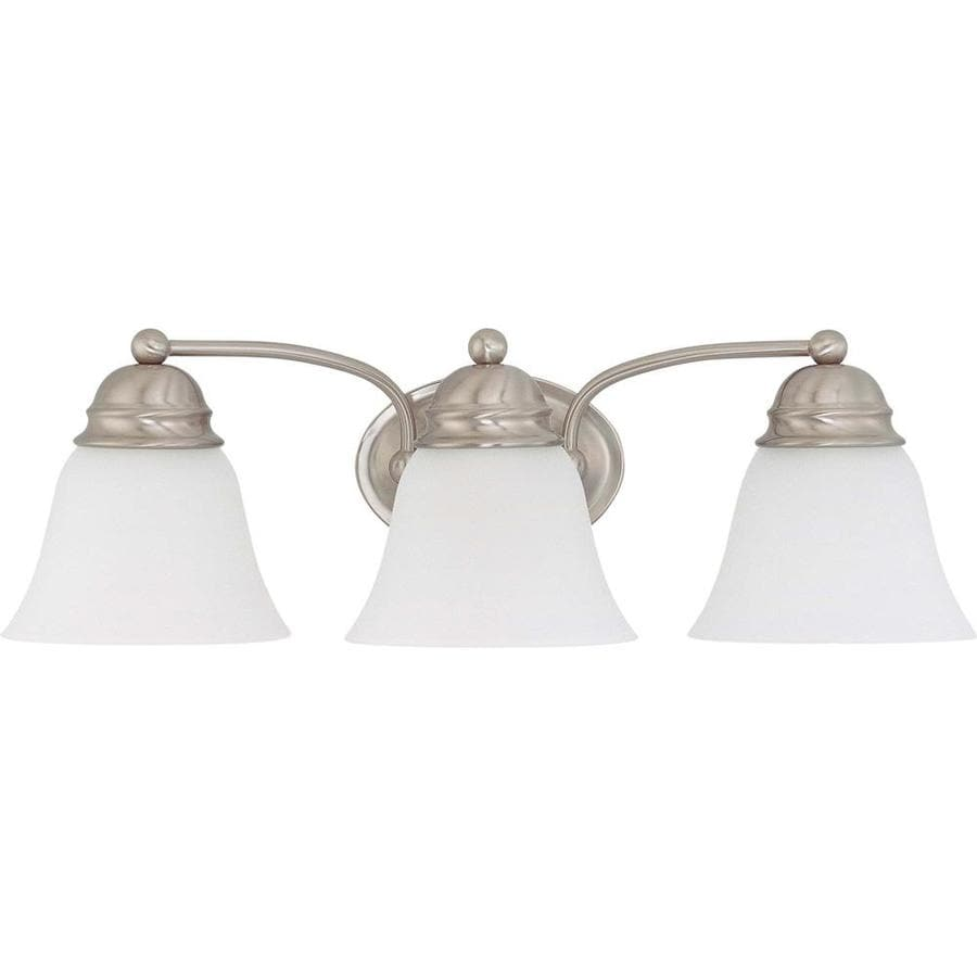 Empire 2-Light 6.125-in Brushed Nickel Vanity Light