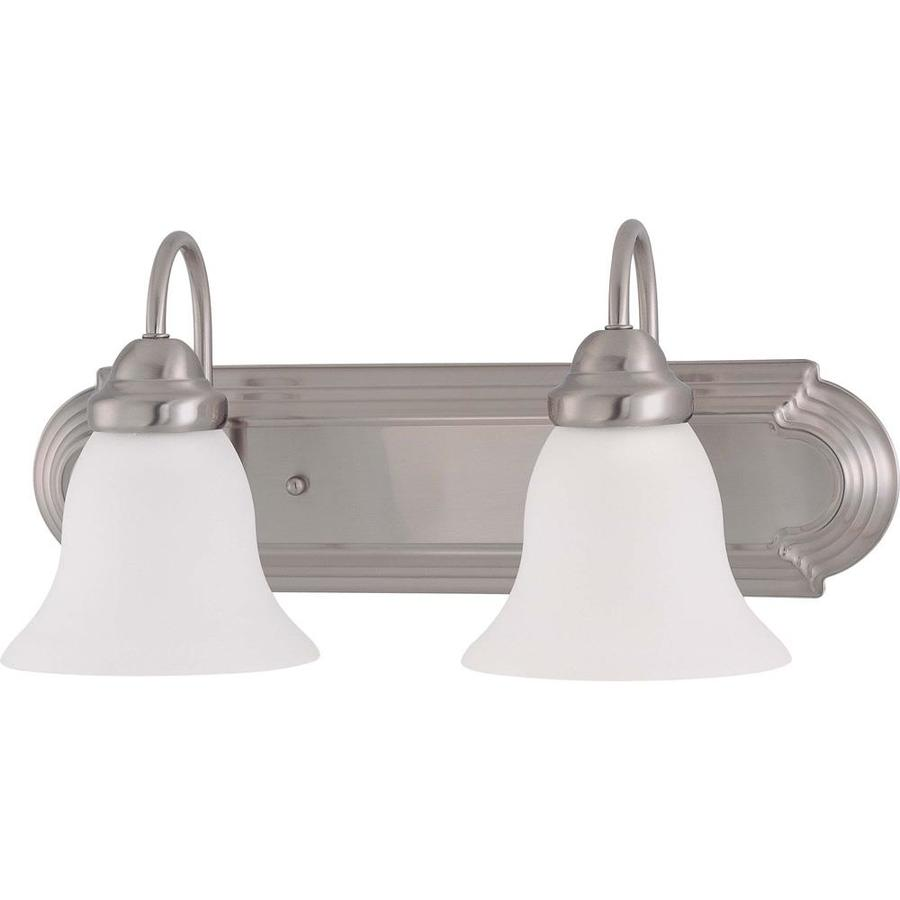 Empire 4-Light 6.125-in Brushed Nickel Vanity Light