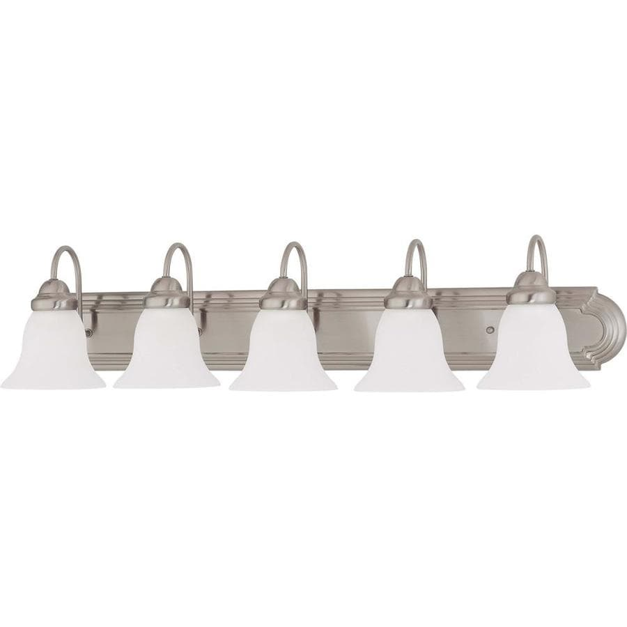 Ballerina 4-Light 7.625-in Brushed Nickel Vanity Light