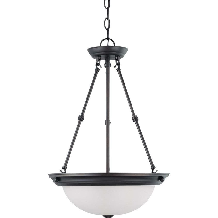 Odeon 16-in Mahogany Bronze Single N/A Pendant