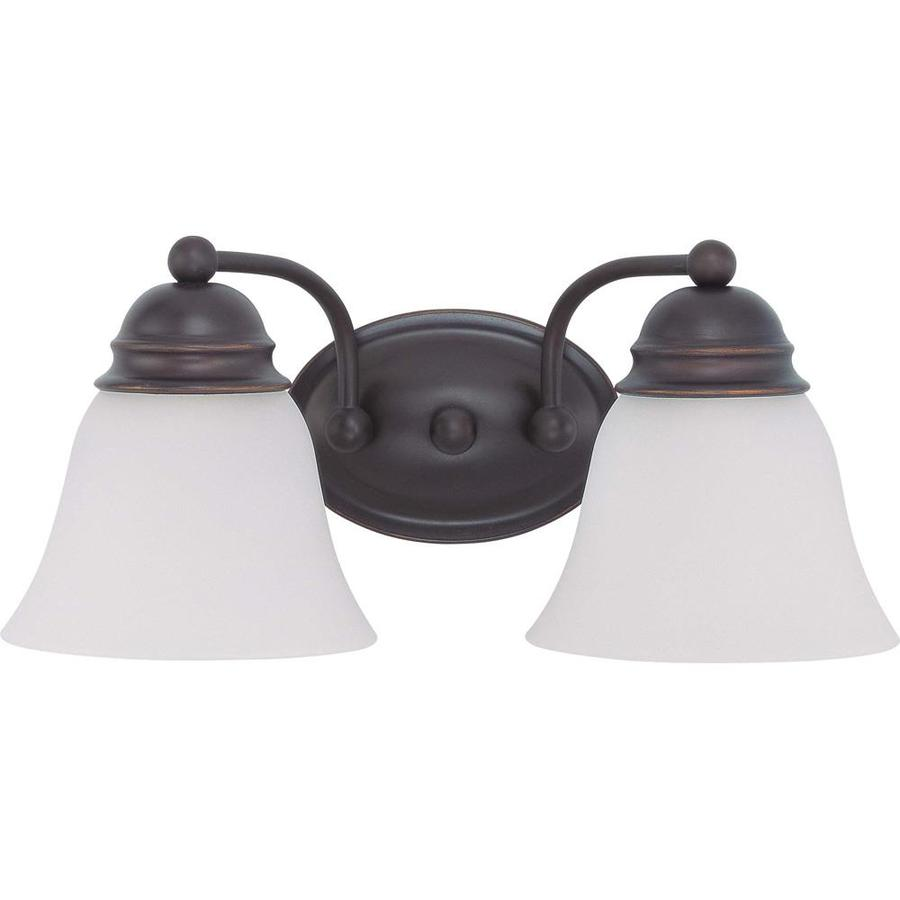 Empire 1-Light 6.5-in Mahogany Bronze Vanity Light