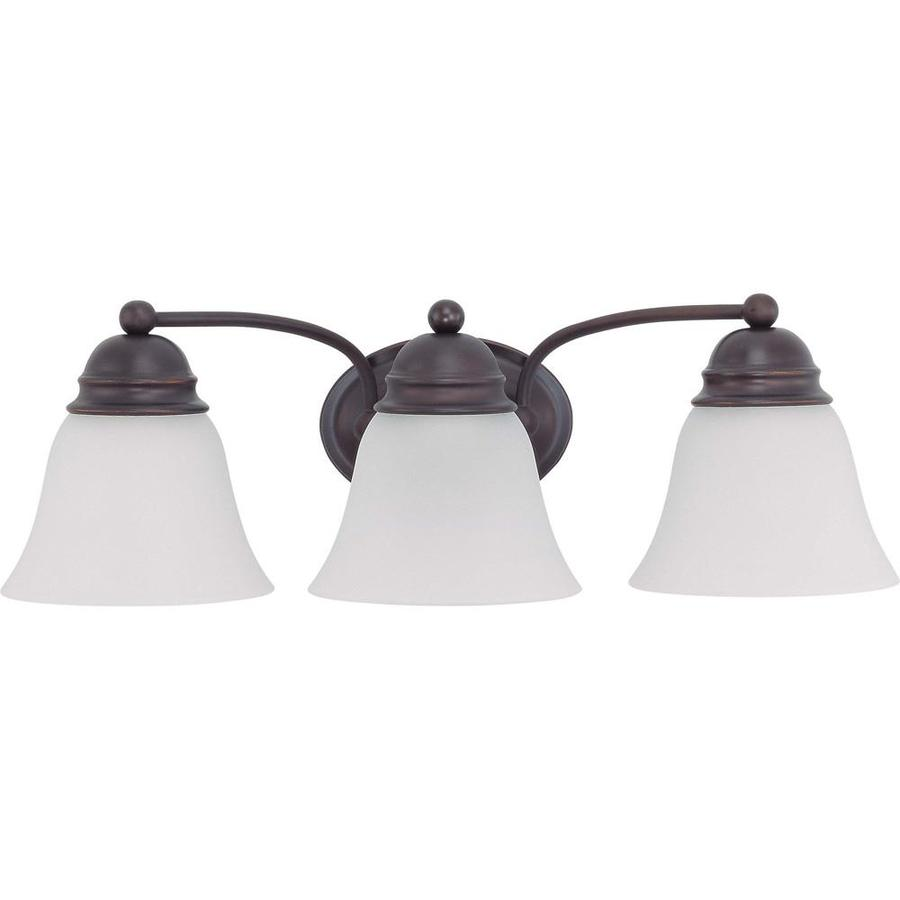 Empire 2-Light 6.5-in Mahogany Bronze Vanity Light