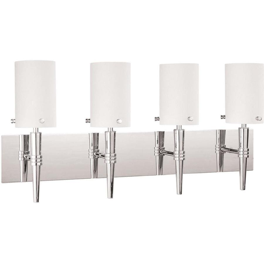 Install Vanity Light Without Electrical Box : Shop Jet 3-Light 19-in Polished Chrome Vanity Light at Lowes.com