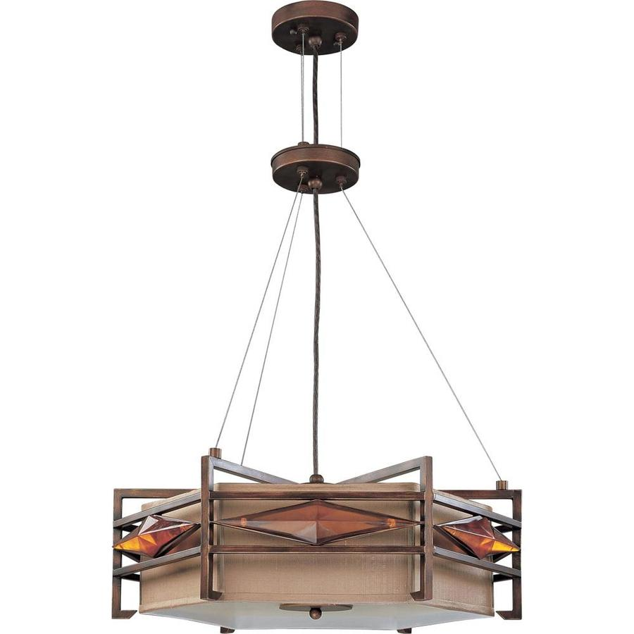 Gable 24.5-in Gramercy Bronze Single N/A Pendant