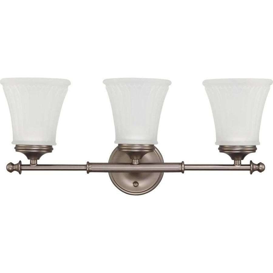 Vanity Lights Not Hardwired : Shop Teller 2-Light 9-in Aged Pewter Vanity Light at Lowes.com