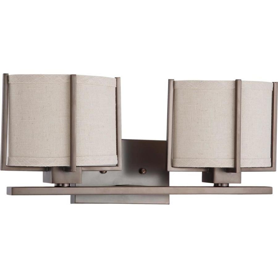Portia 1-Light 7.625-in Hazel Bronze Vanity Light