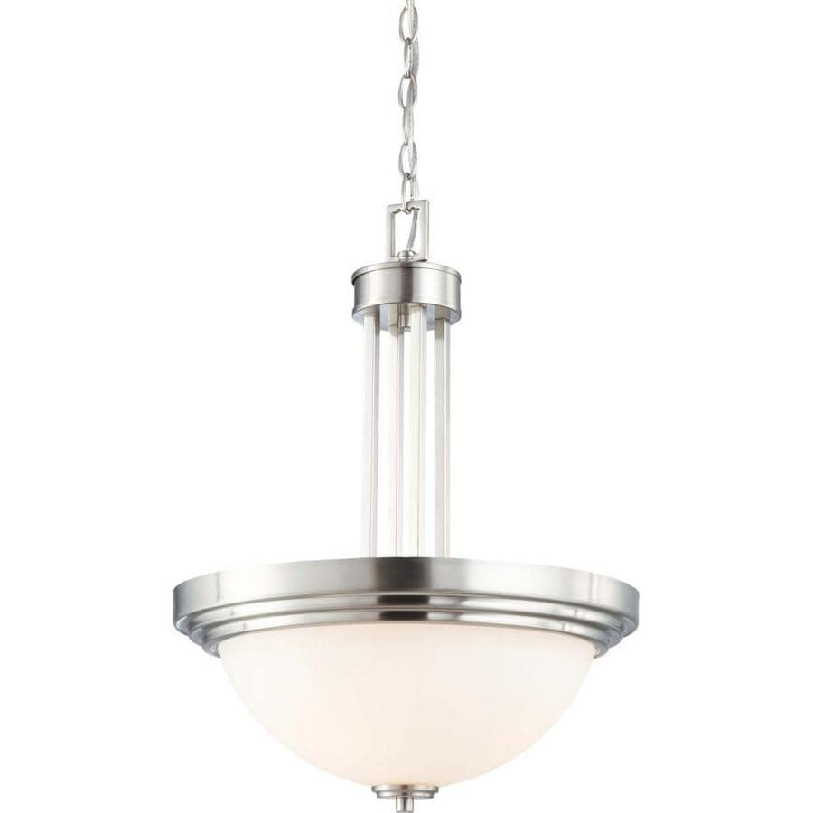 Harmony 18.75-in Brushed Nickel Single N/A Pendant