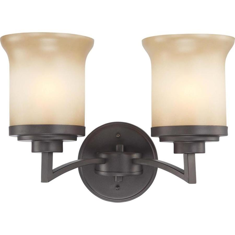 Harmony 1-Light 10.25-in Dark Chocolate Bronze Vanity Light