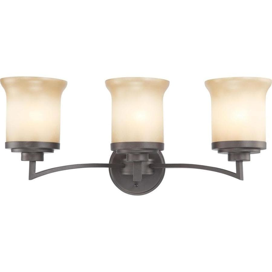 Harmony 2-Light 10.25-in Dark chocolate bronze Vanity Light