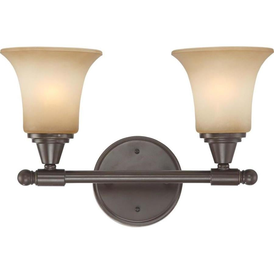 Surrey 1-Light 10.25-in Vintage Bronze Vanity Light