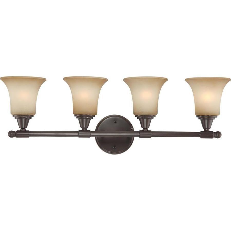 Surrey 3-Light 10.25-in Vintage Bronze Vanity Light