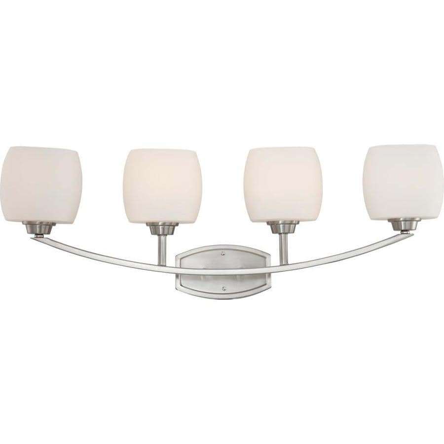 Helium 3-Light 13.5-in Brushed Nickel Vanity Light