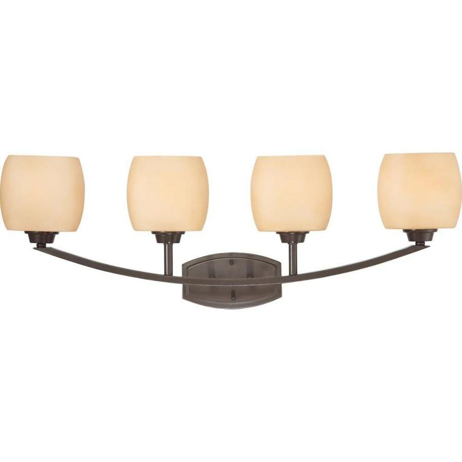 Helium 3-Light 13.5-in Vintage Bronze Vanity Light