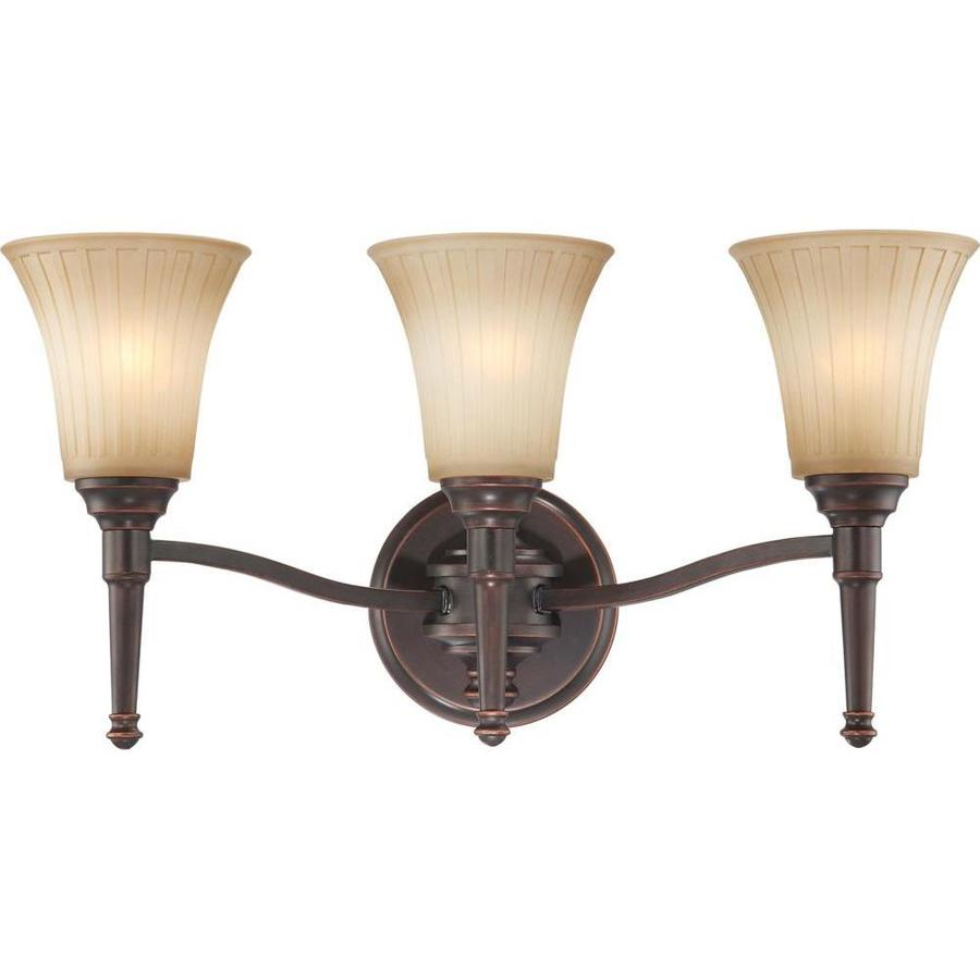Helium 4-Light 13.5-in Vintage Bronze Vanity Light