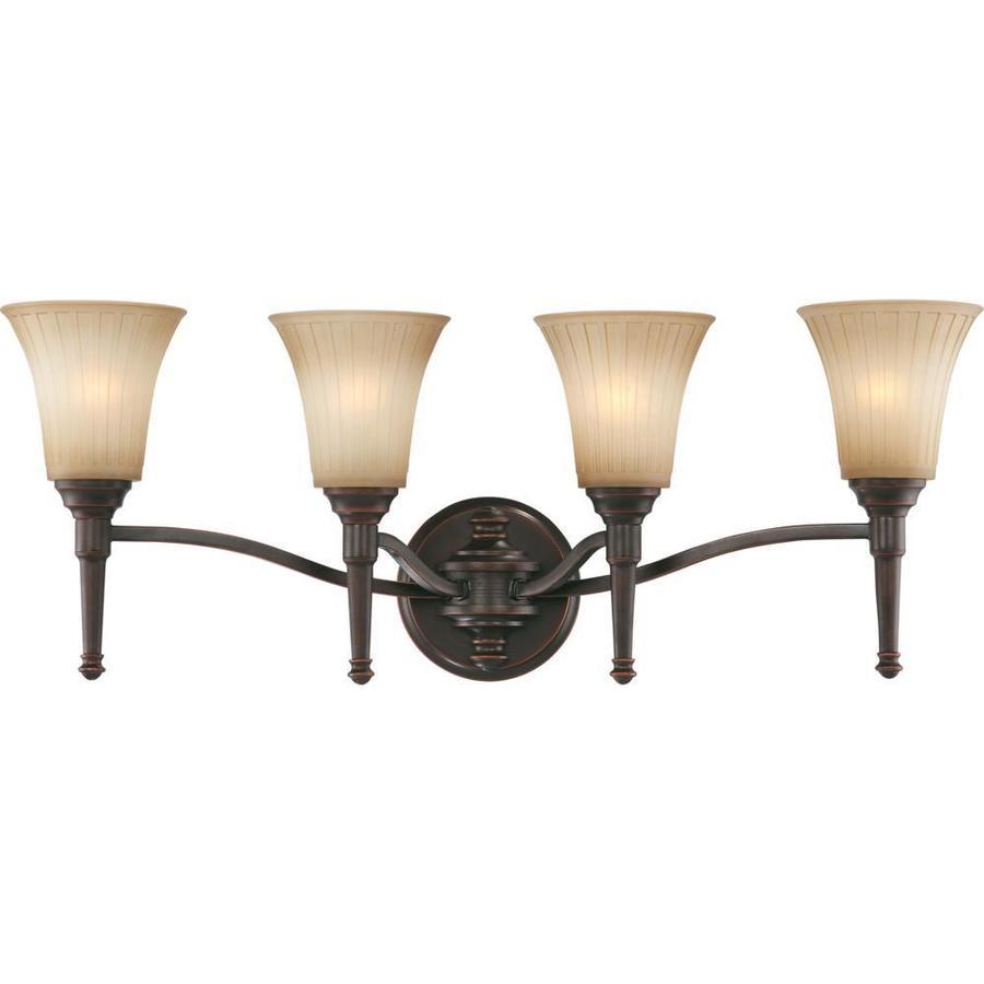 Franklin 3-Light Georgetown Bronze Vanity Light