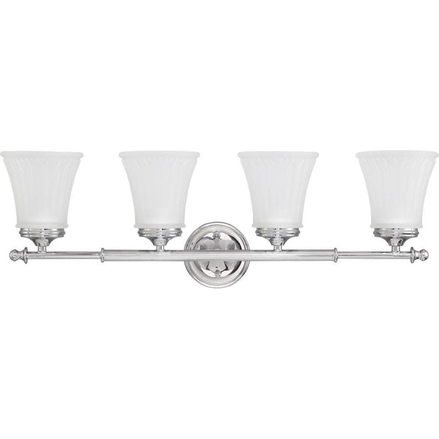 Vanity Lights Polished Chrome : Shop Teller 3-Light 9-in Polished Chrome Vanity Light at Lowes.com
