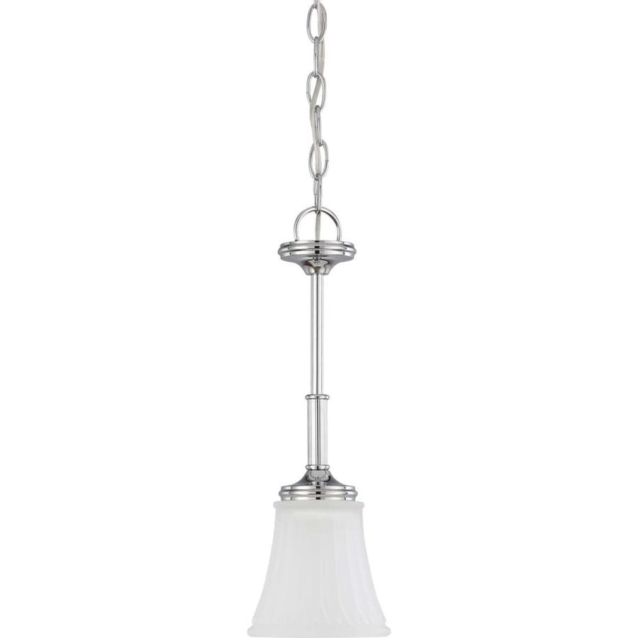 Teller 13-in Polished Chrome Mini Pendant