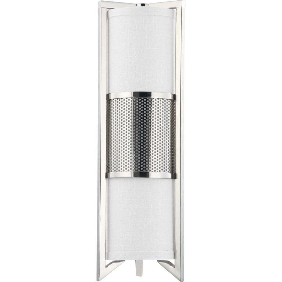 Diesel 8.25-in W 1-Light Polished Nickel Arm Wall Sconce
