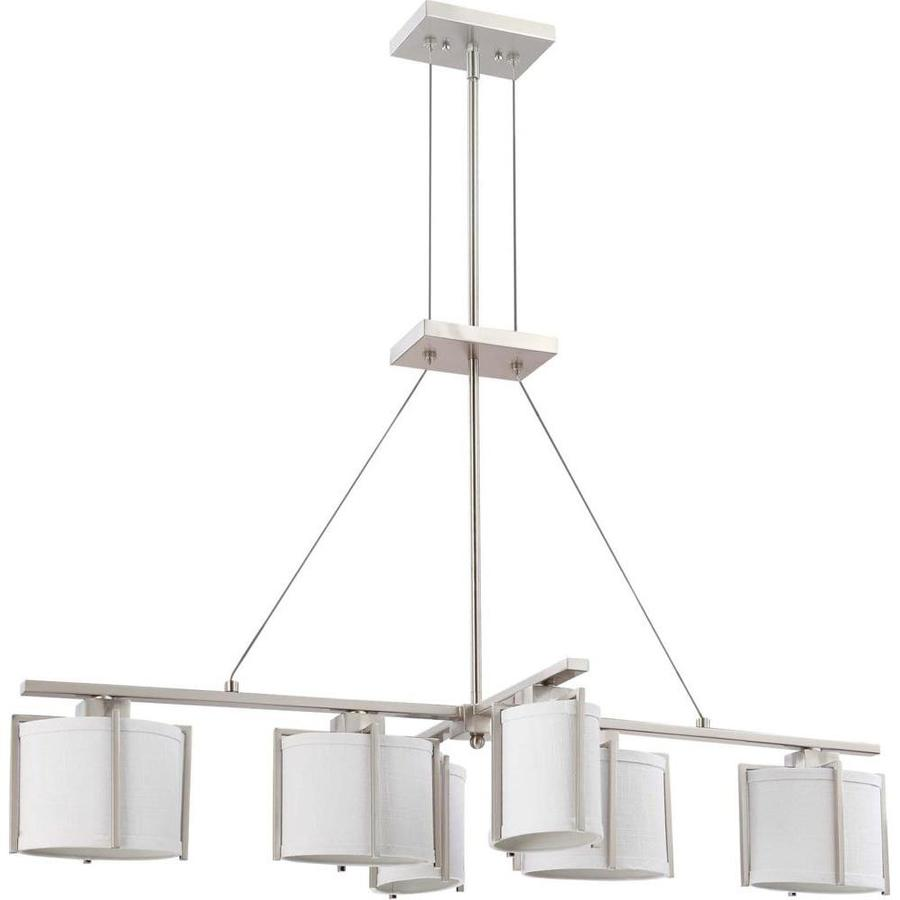 Portia 25.5-in Brushed Nickel Single N/A Pendant