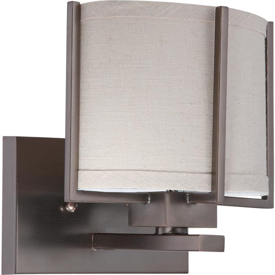Logan 3-Light 8-in Brushed Nickel Vanity Light
