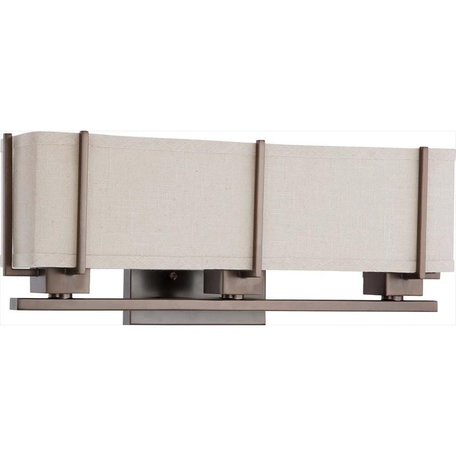 Logan 8.5-in W 1-Light Hazel Bronze Arm Wall Sconce