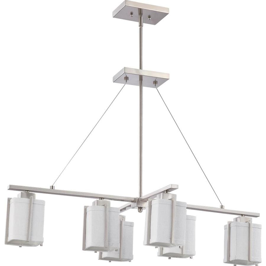 Logan 24.5-in Brushed Nickel Single N/A Pendant