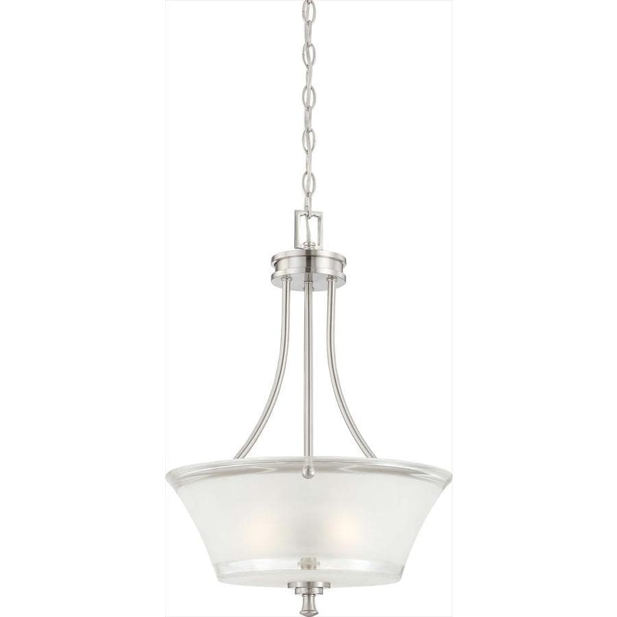 Patrone 18.5-in Brushed Nickel Single N/A Pendant