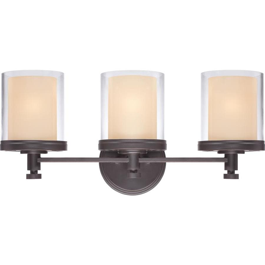 Decker 3-Light 10.25-in Sudbury Bronze Vanity Light