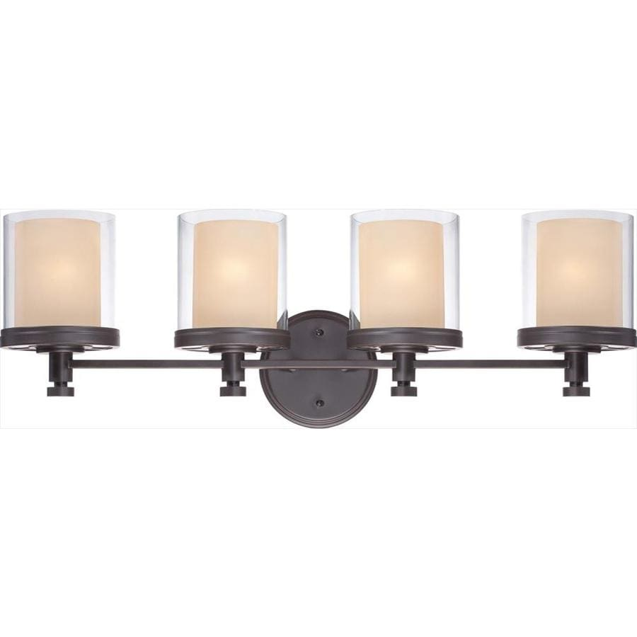 Decker 4-Light Sudbury Bronze Vanity Light