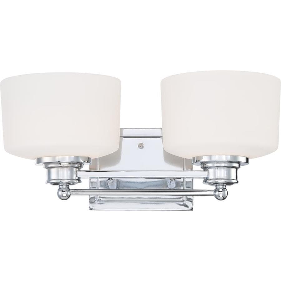Soho 2-Light 8.25-in Polished Chrome Vanity Light