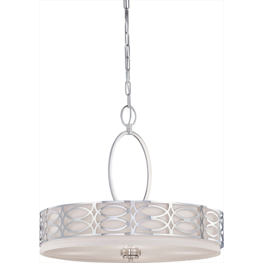 Harlow 24.5-in Polished Nickel Single N/A Pendant