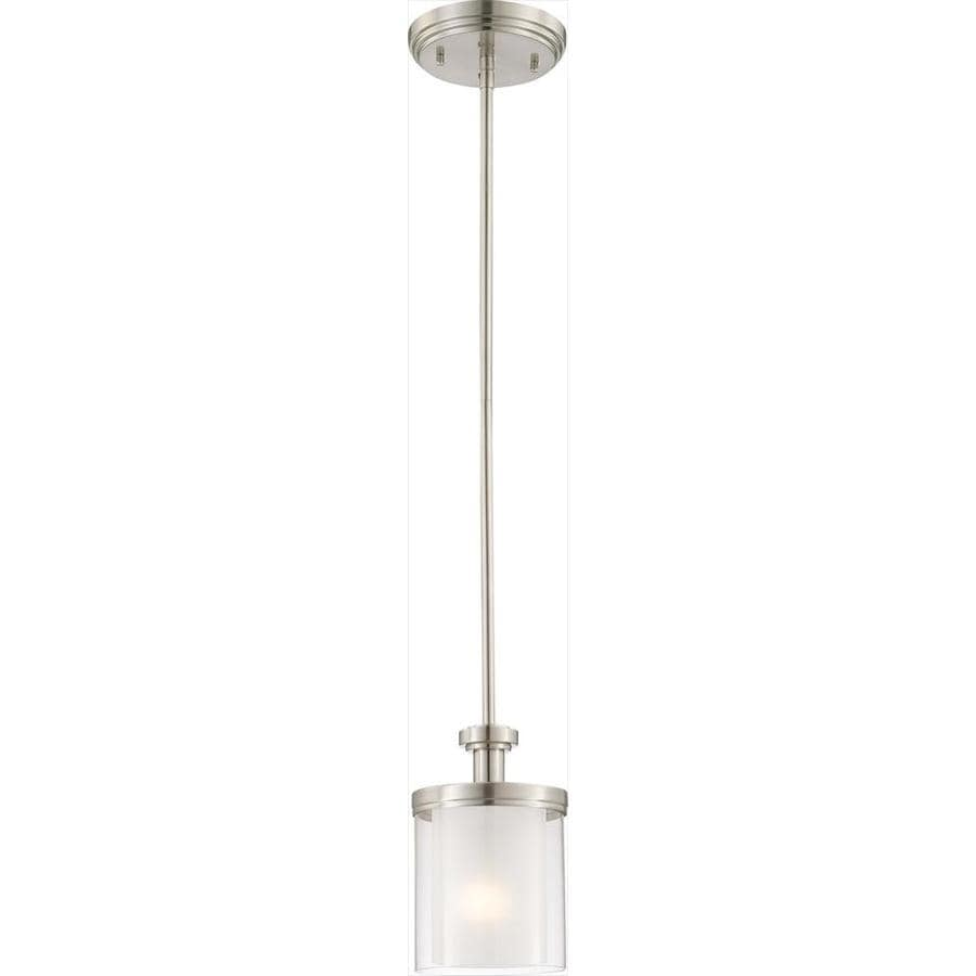 Decker 18-in Brushed Nickel Mini N/A Pendant