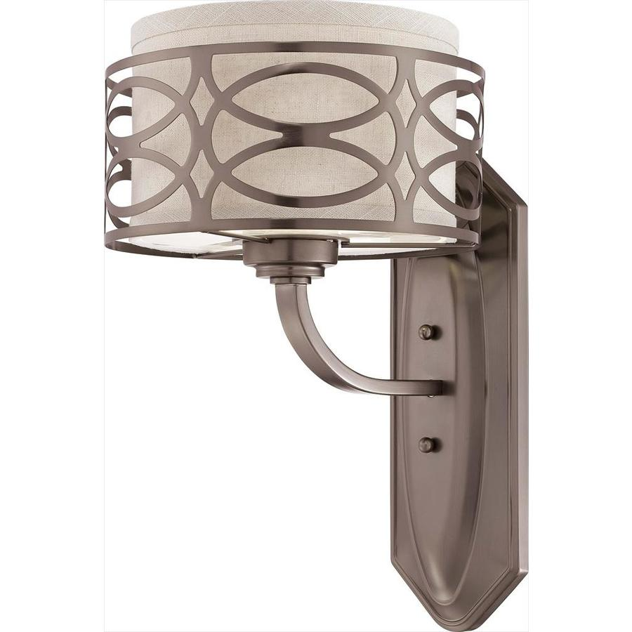 Harlow 1-Light 14.125-in Hazel bronze Vanity Light
