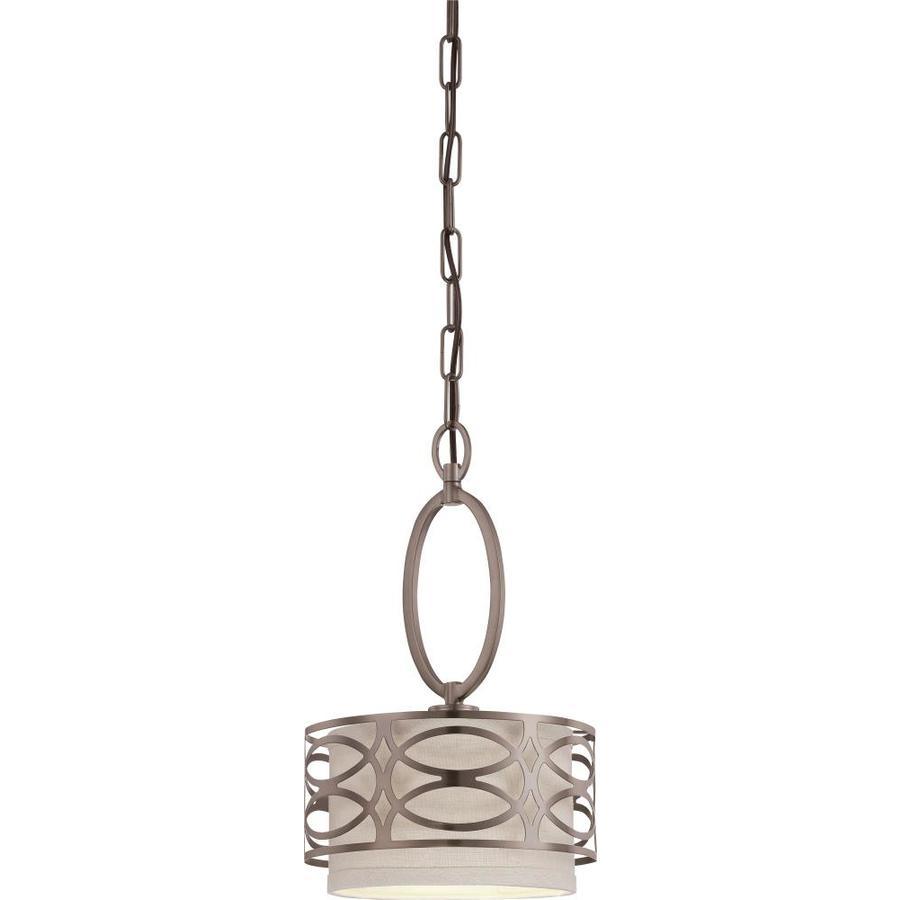 Harlow 10-in Hazel Bronze Mini N/A Pendant
