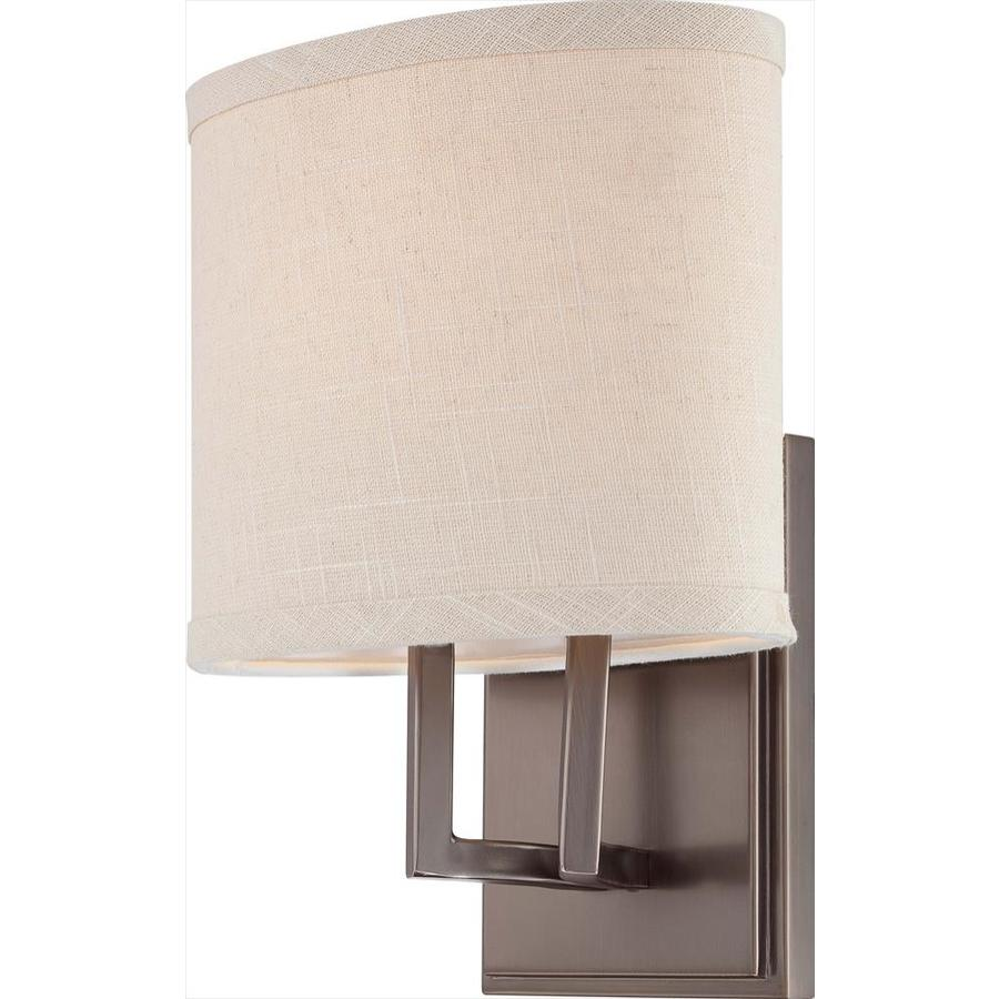 Gemini 1-Light 10.375-in Hazel Bronze Vanity Light
