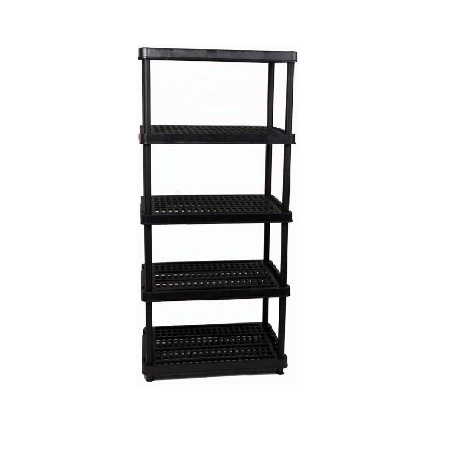 enviro elements 72-in H x 36-in W x 18-in D Plastic Freestanding Shelving Unit