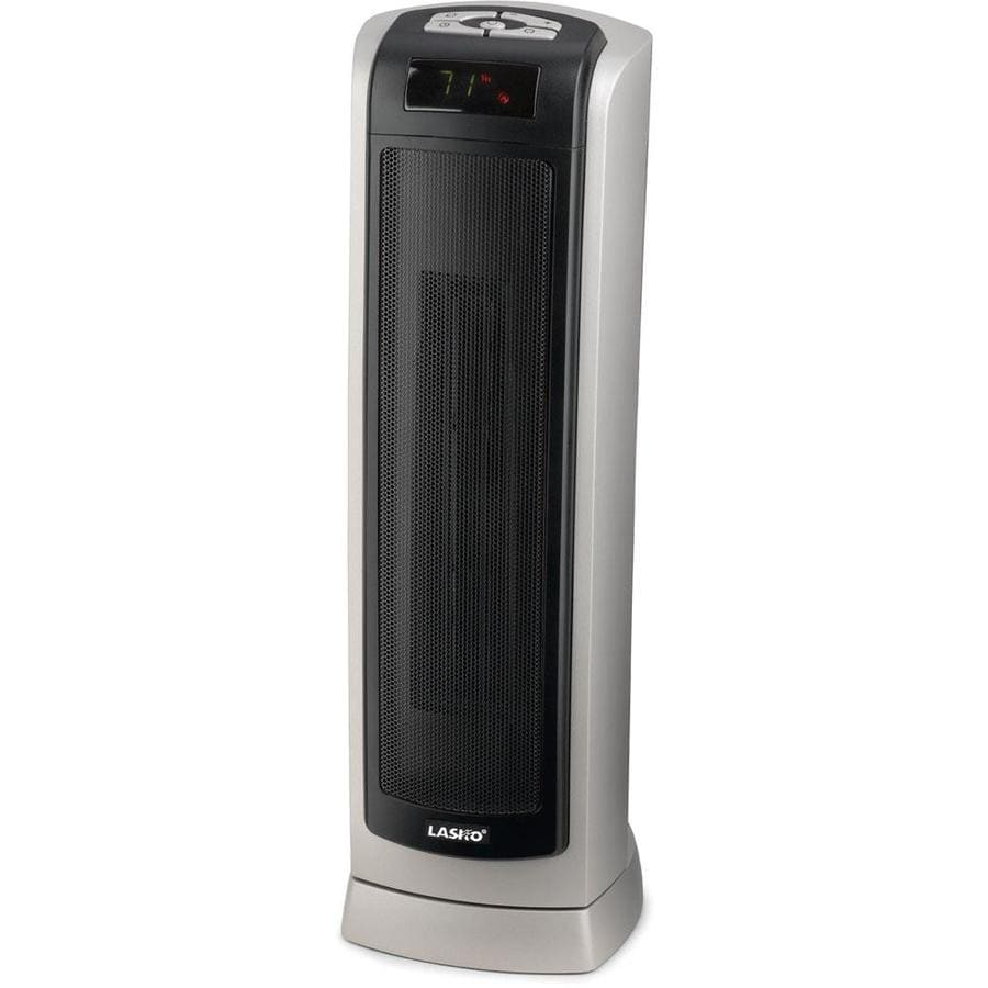 Lasko 1500-Watt Convection Tower Electric Space Heater At