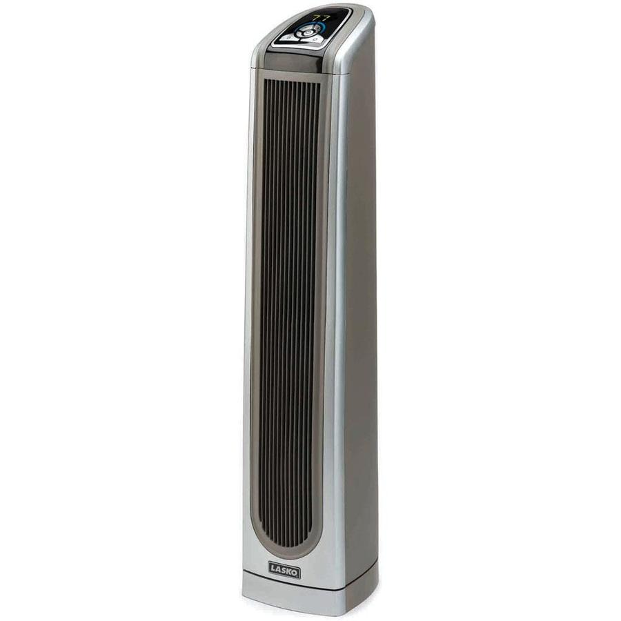 Lasko 5,118-BTU Ceramic Tower Electric Space Heater with Thermostat