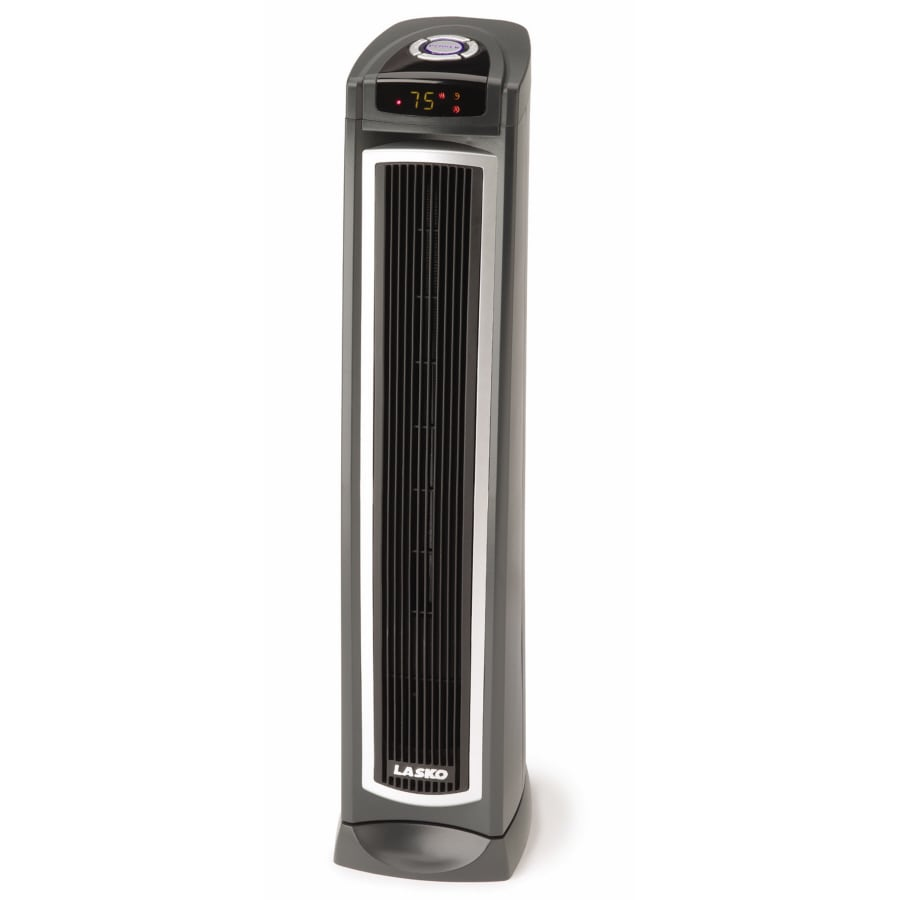 Lasko Radiant/Quartz Tower Electric Space Heater with Thermostat