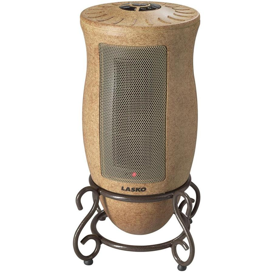Shop lasko 5 118 btu ceramic tower electric space heater with thermostat at - Heating small spaces concept ...